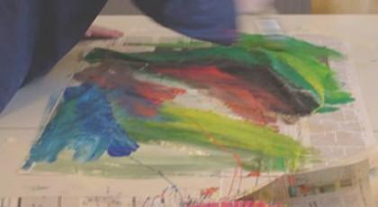 Expositie Cursus Creatief tekenen en schilderen