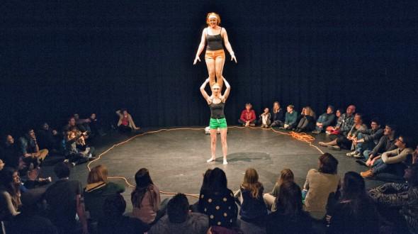 Circus in 't Warnshuus