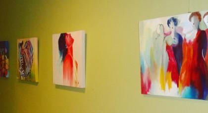 """Expositie """"Creatief tekenen en schilderen"""""""