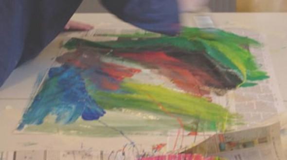 Creatief tekenen en schilderen