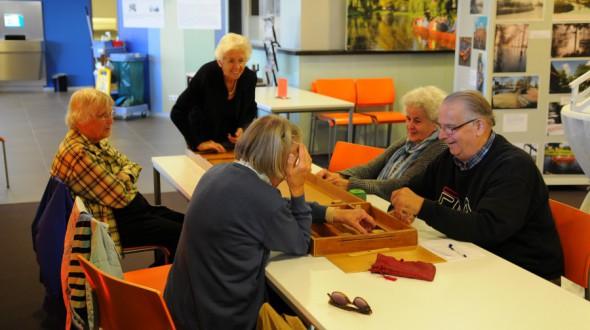 Sjoelen voor ouderen