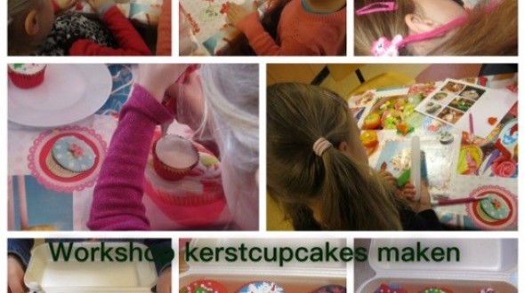 Kinderworkshop Kerstcupcakes