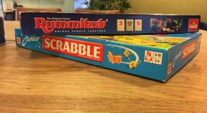 Rummikub en Scrabble